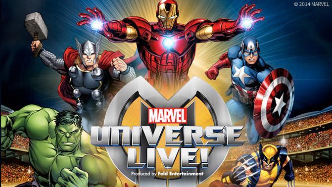 ¡EL ESCENARIO DE MARVEL UNIVERSE LIVE! VIENE AL REINO UNIDO!
