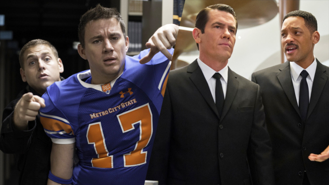 EL  CROSSOVER  ENTRE 23 JUMP STREET Y MEN IN BLACK SE ESTÁ ACONTECIENDO