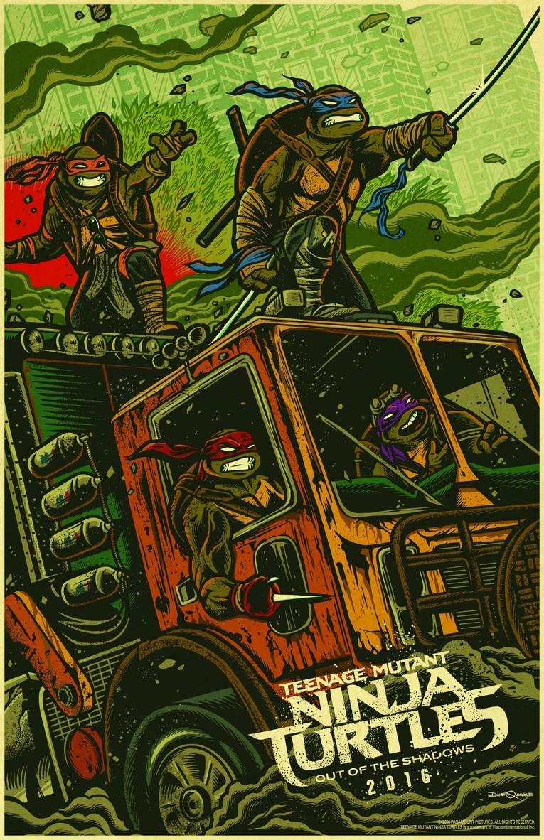 David Quibble's TMNT artwork
