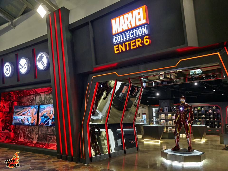 First of its Kind Marvel Collection Store in South Korea