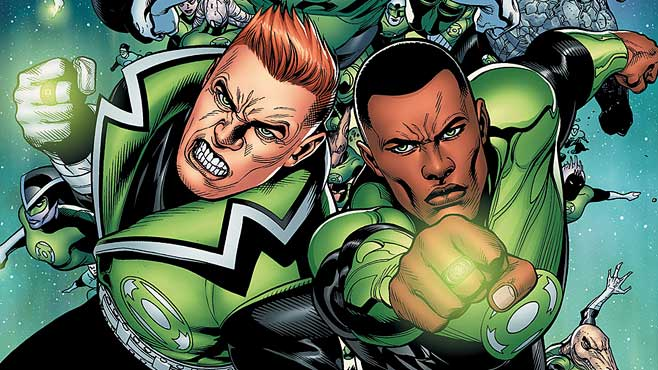 Green Lantern not in Justice League: Part One