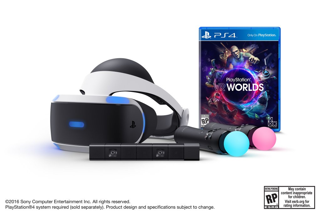 'PlayStation VR' Launch Bundles Available for Pre-Order Next Week