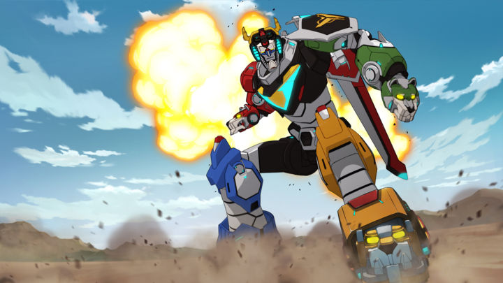 Voltron's new look