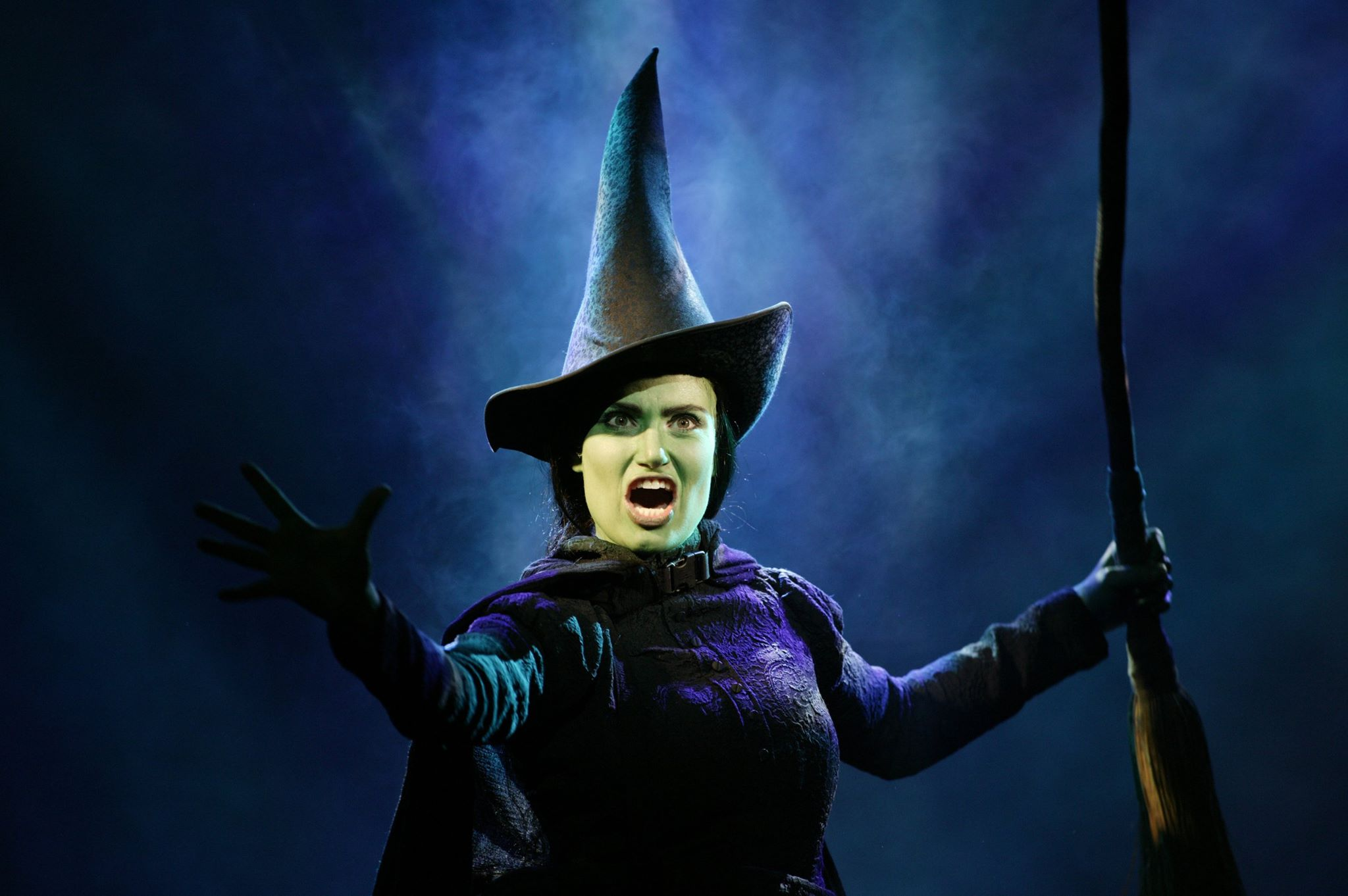 Idina Menzel in Wicked on Broadway