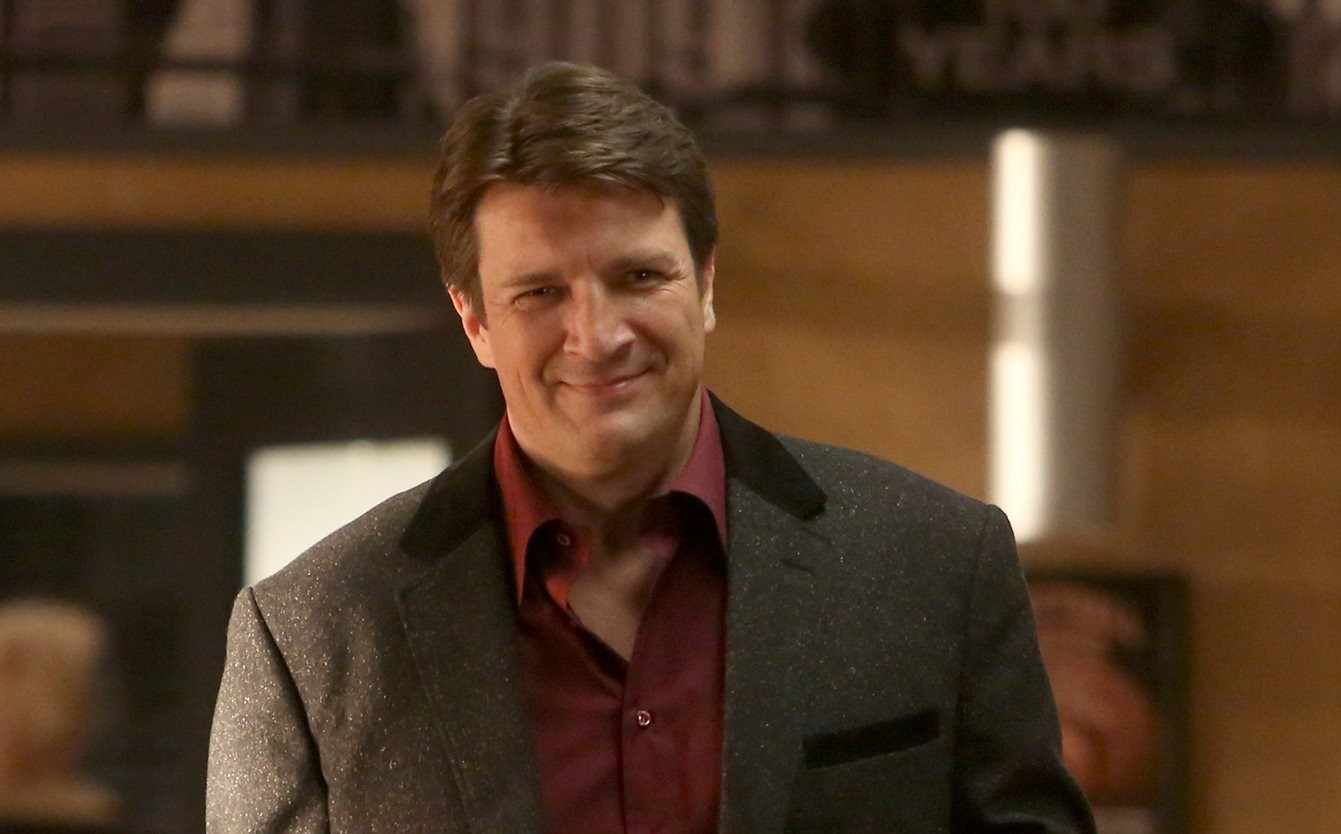 Nathan Fillion in Castle