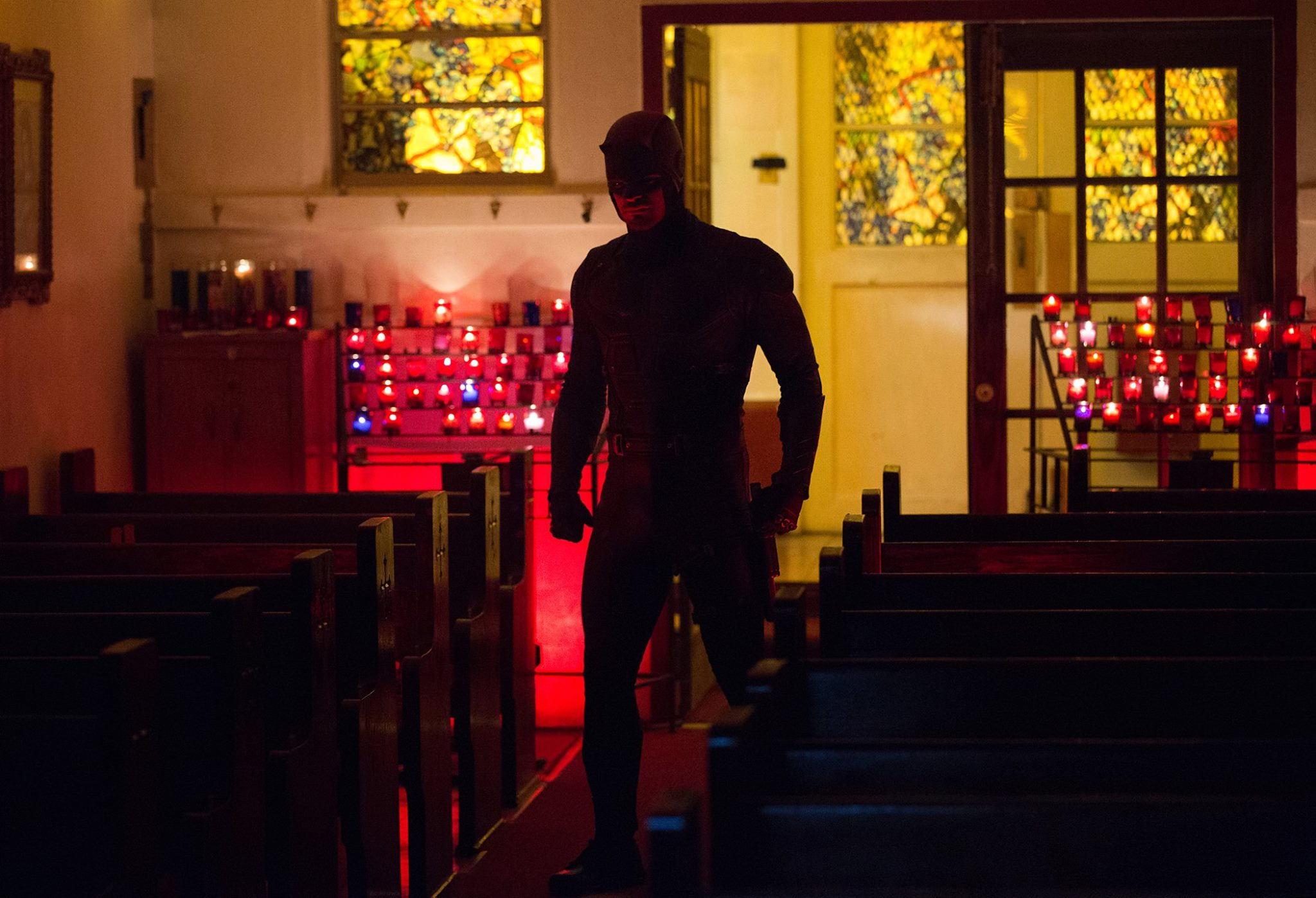 Daredevil in church