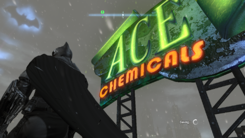 ACE Chemicals in Batman Arkham City