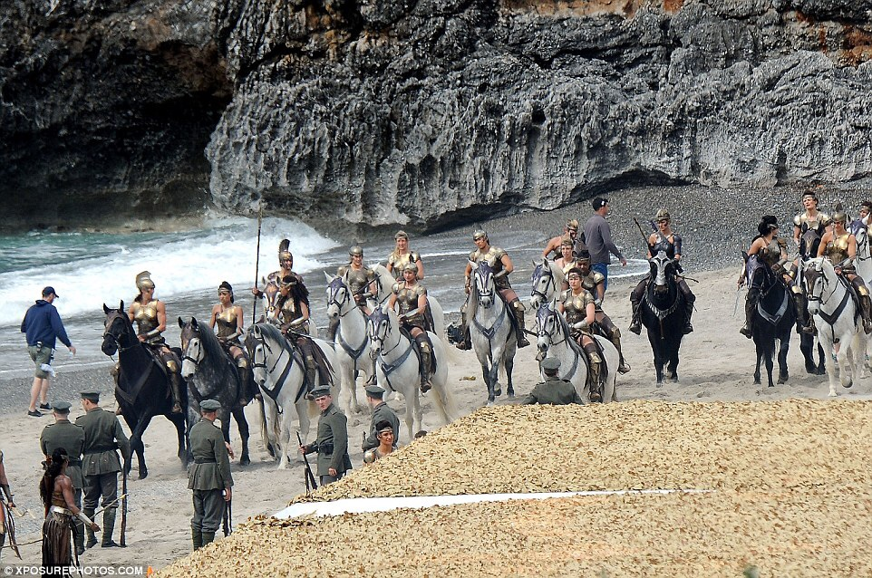 Armored Amazons in Wonder Woman