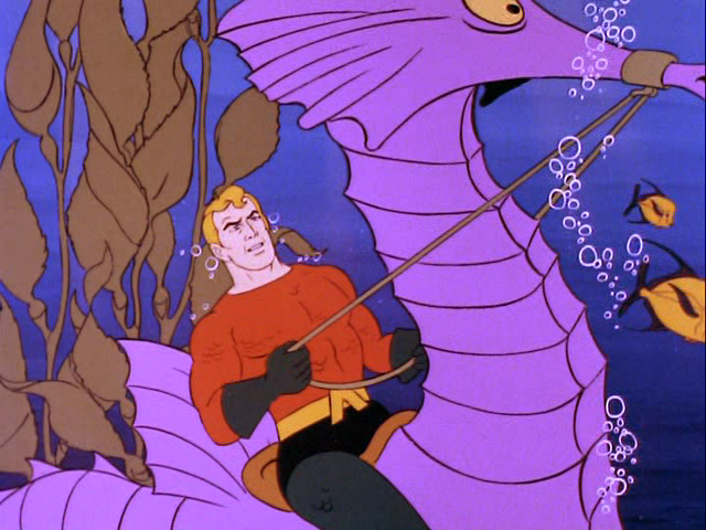 Aquaman in Super Friends