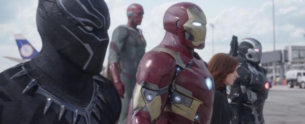Team Iron Man talk Civil War