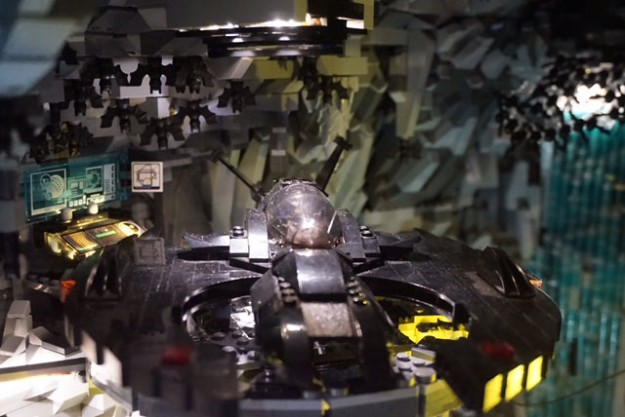 One Fan Spent Two Months Building an Impressive LEGO Batcave