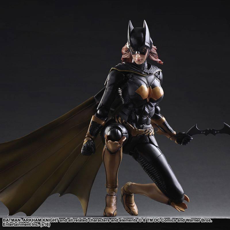 Batgirl Arkham Knight figure batarang crouch