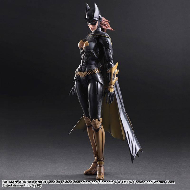 batgirl figure Arkham Knight standing figure
