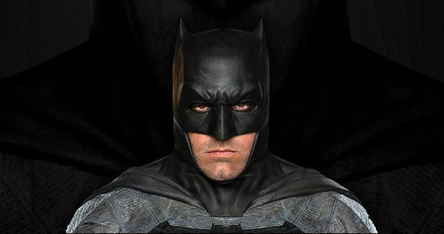 Ben Affleck in Batman costume