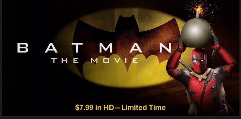 Deadpool Batman on iTunes