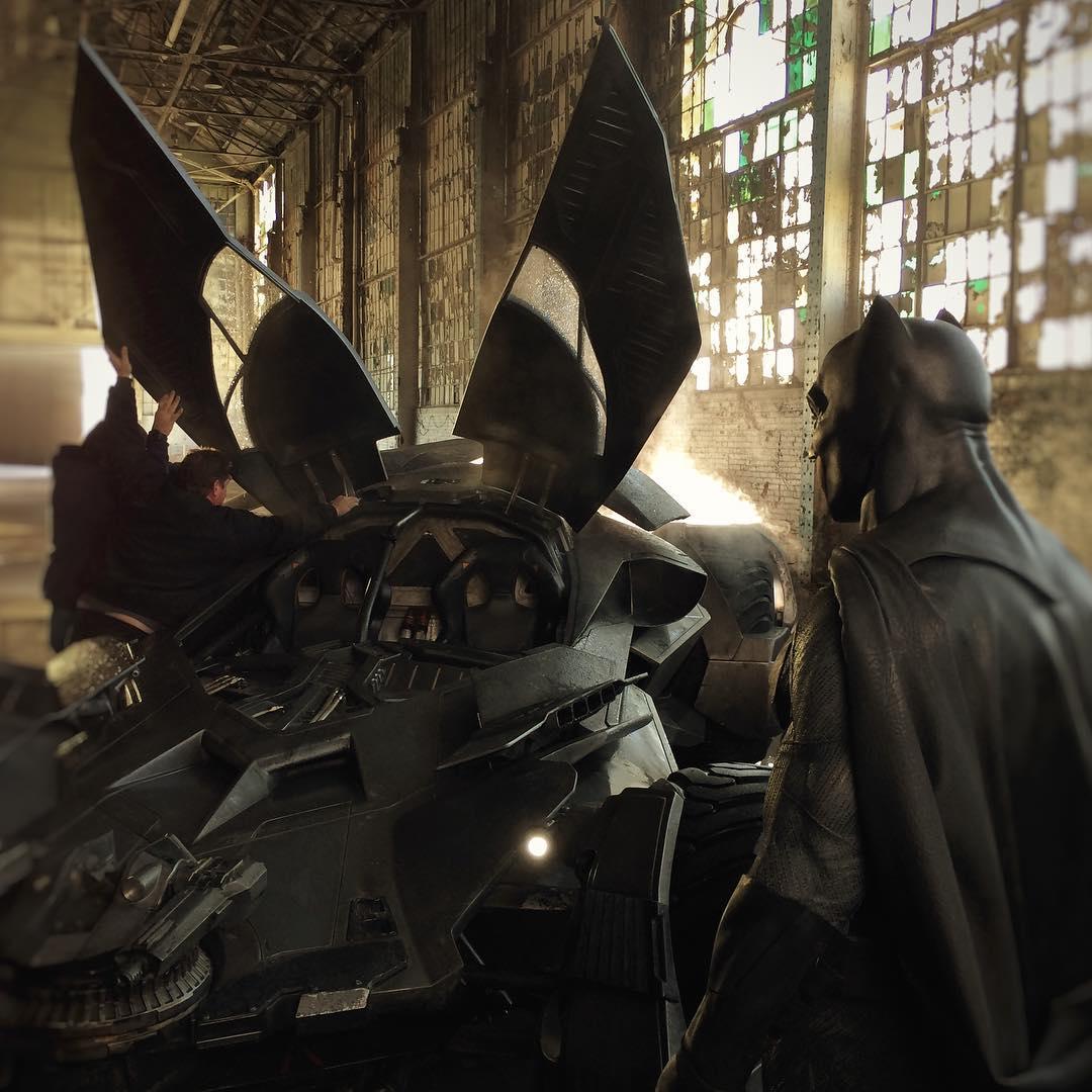Batman and Batmobile