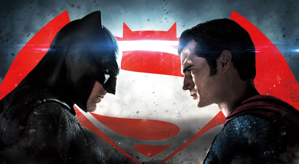 Batman v Superman promo face to face