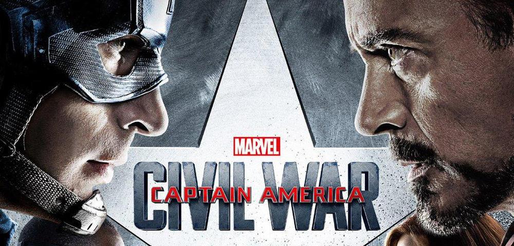 Civil War promo Cap and Iron Man face to face
