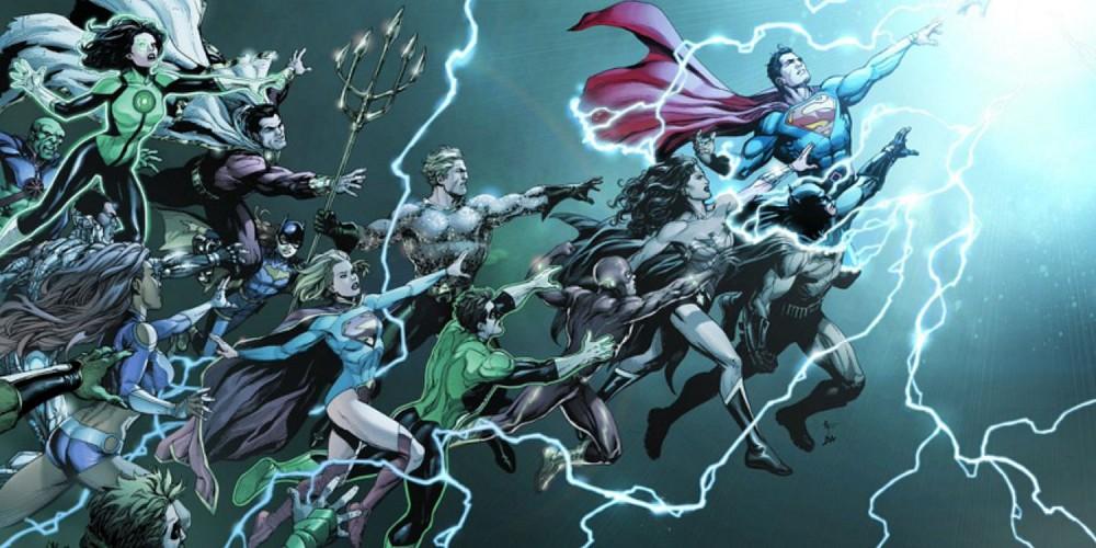 DC Comics Rebirth heroes