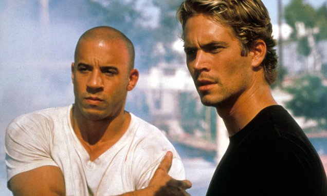 Paul Walker as Brian O'Conner, Vin Diesel as Dom Toretto Fast and Furious