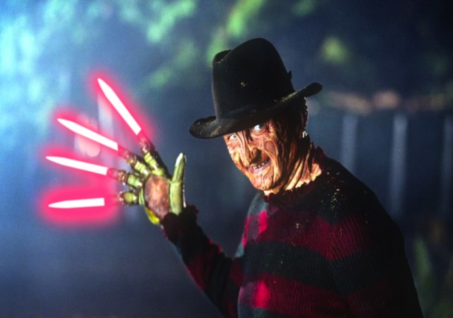 Freddy with Lightsaber blades