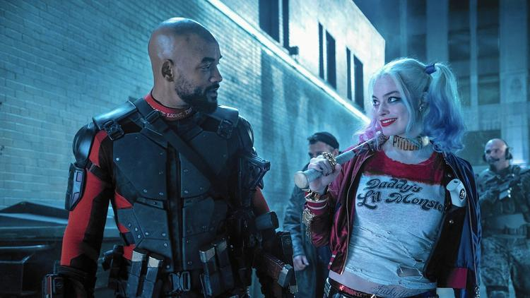 Harley and Deadshot in 'Suicide Squad'