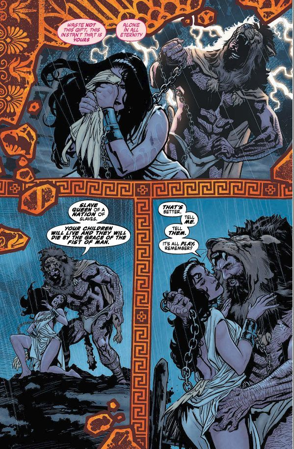 Hercules and Hippolyta, Morrison's WW Earth One