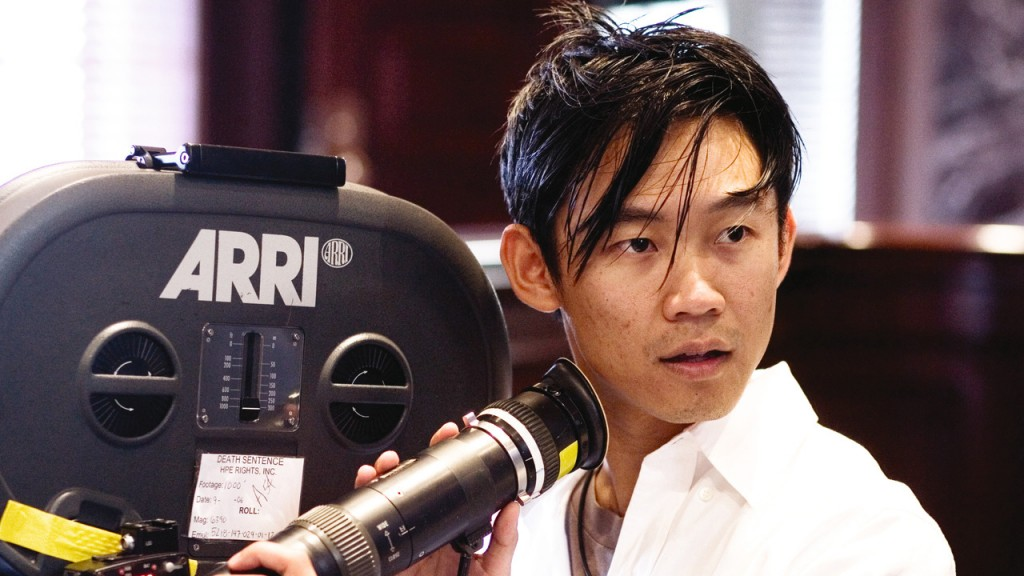 James Wan on camera directing