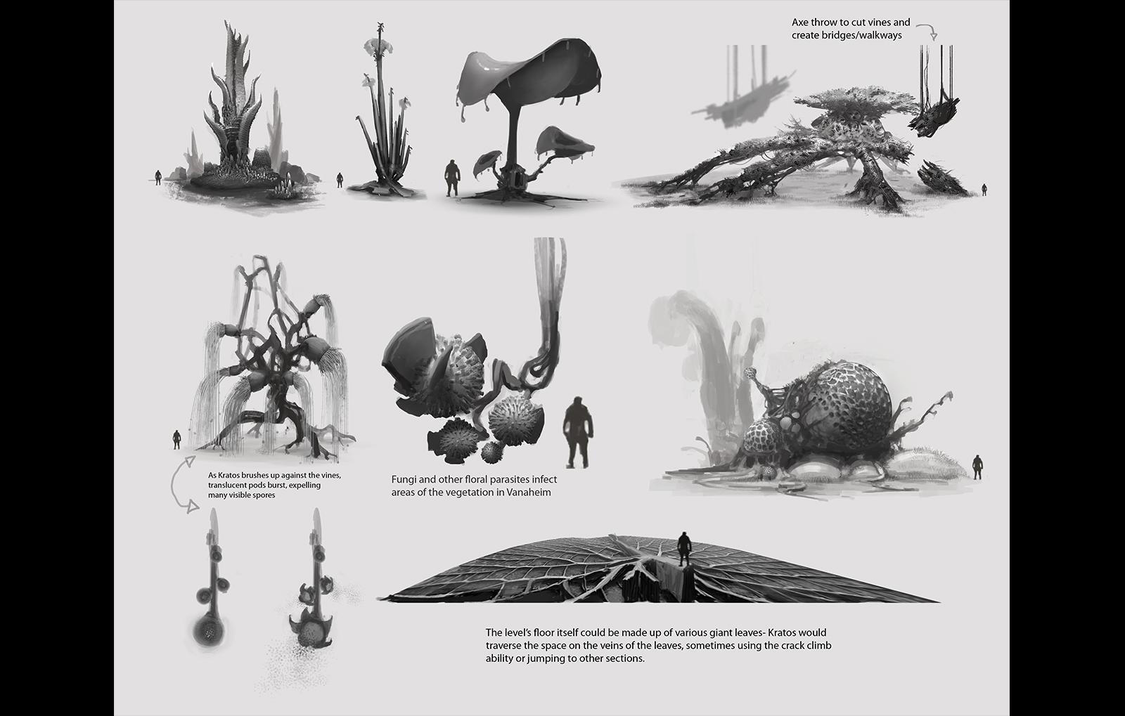 Concept Art Leaks Suggest 'God of War 4' is Based on Norse Mythology