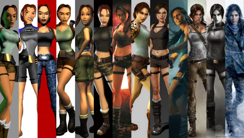 History of Lara Croft picture