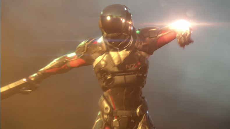 'Mass Effect: Andromeda' Prototype Gameplay Footage Leaked