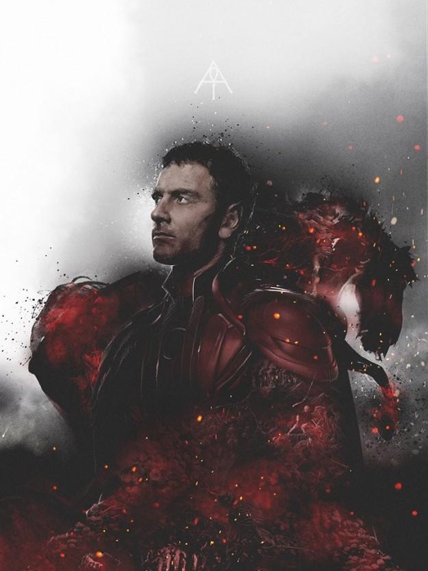 Michael Fassbender's Magneto