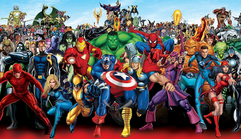 crossover, marvel, marvel characters, x-men, avengers, fantastic four, wolverine, captain america, thor, iron man, hulk, spider-man