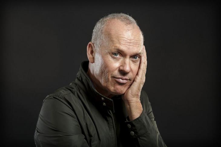 Michael Keaton closeup