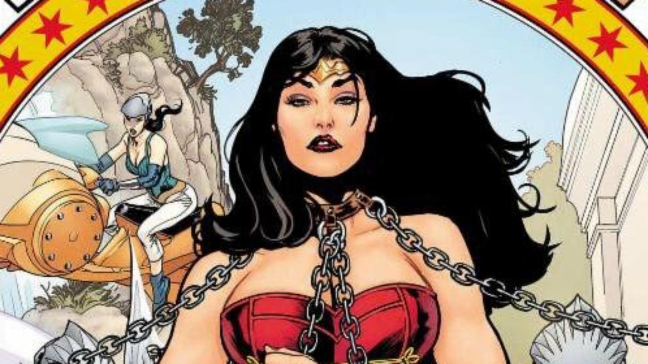 Morrison - Wonder Woman bound in chains