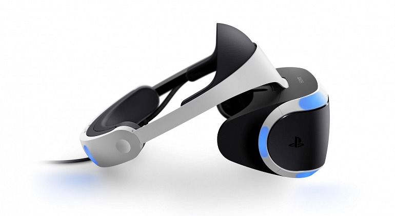 PlayStation VR goggles headset unit