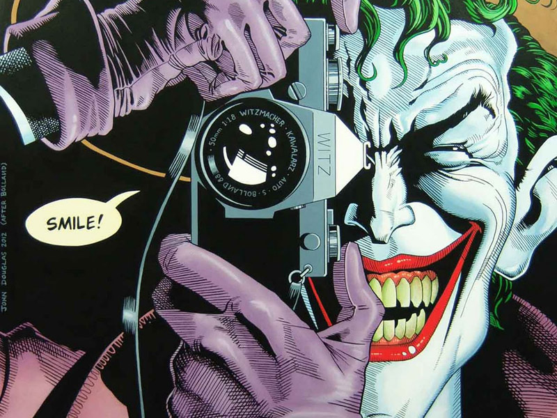 Cover of 'Batman: The Killing Joke'