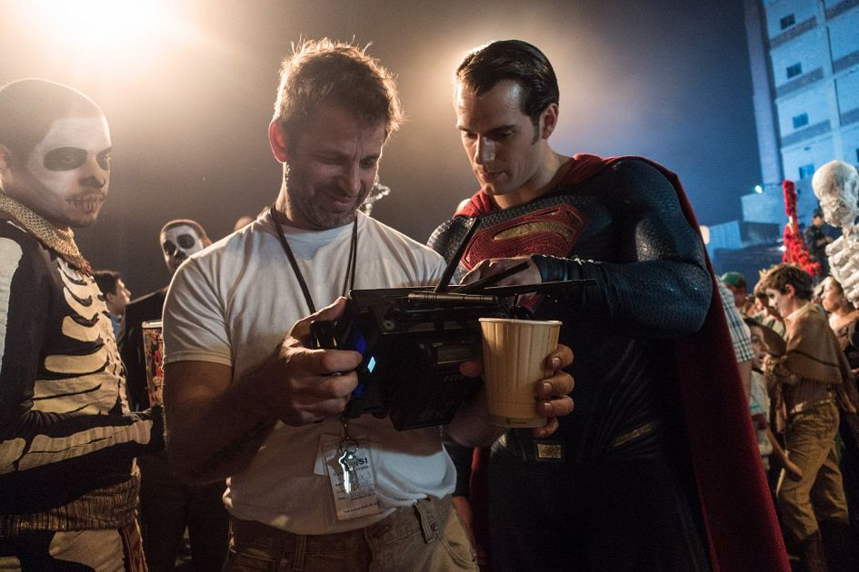 Snyder and Cavill