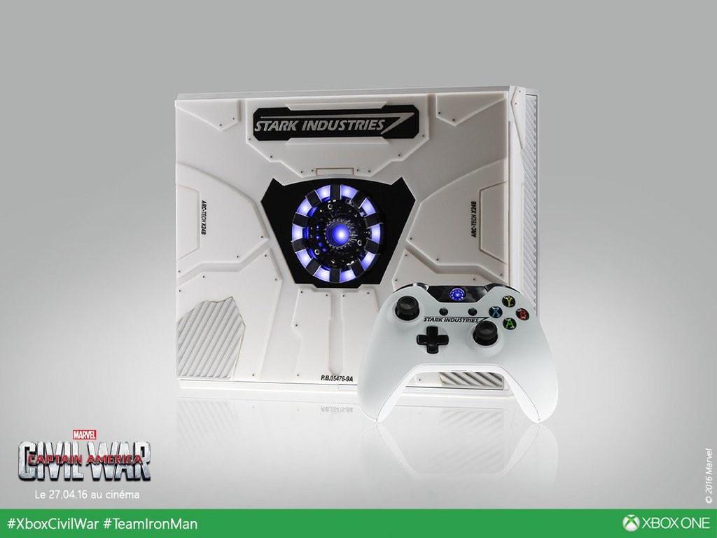 Stark Industries Xbox One