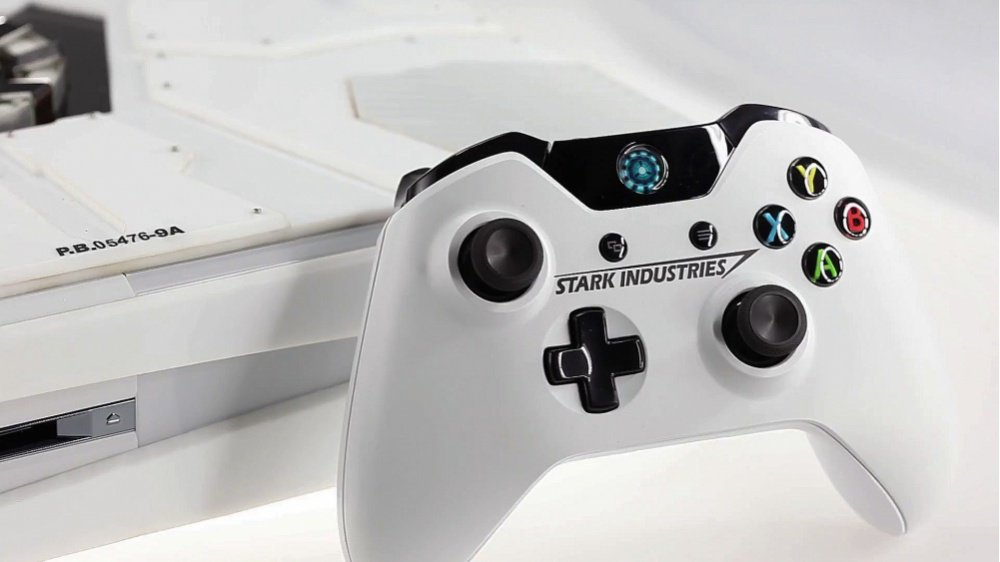 Stark Industries Xbox Controller