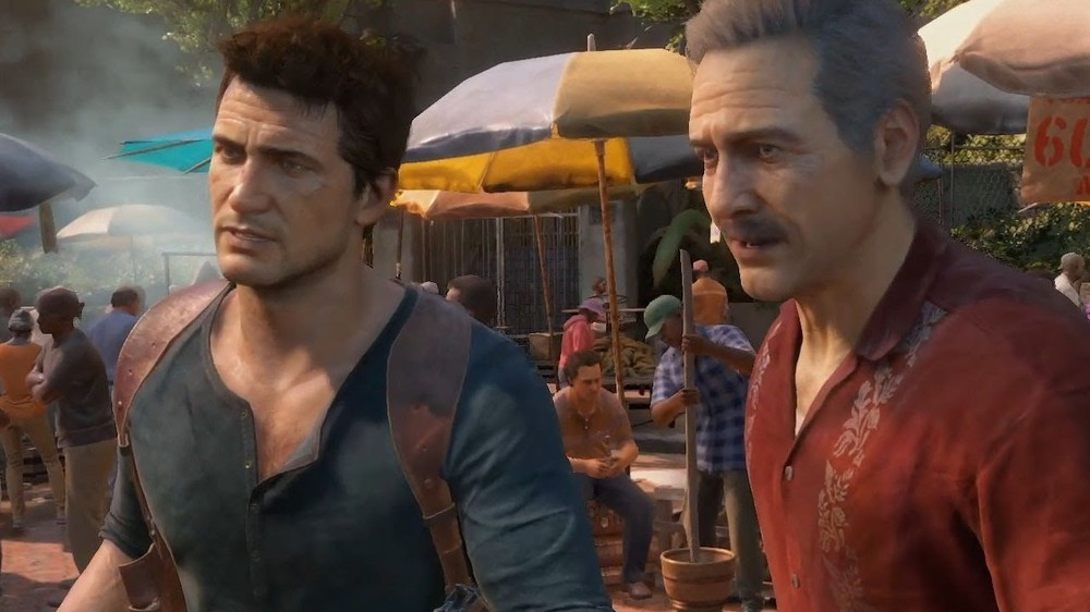 Drake and Sully in Uncharted 4