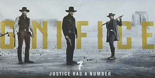 Magnificent Seven remake poster Justice has a number