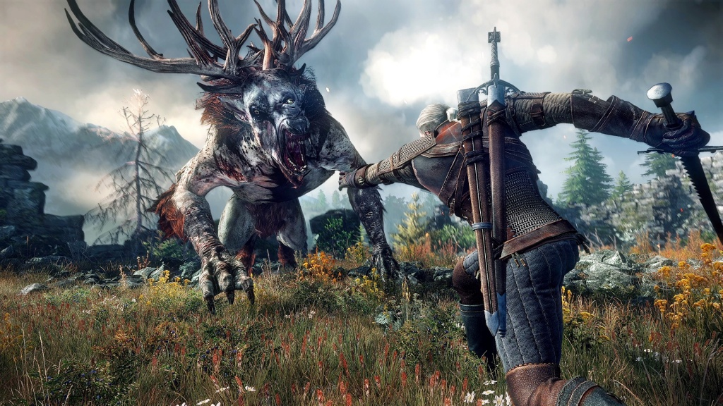 The Witcher 3 art creature