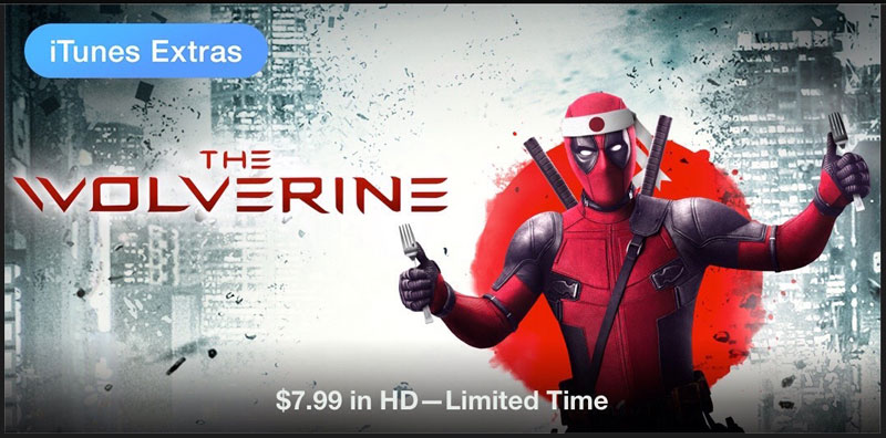 The Wolverine Deadpool on iTunes