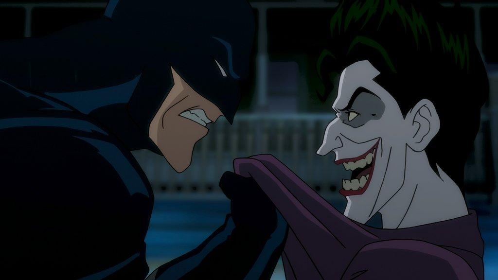 Batman and Joker in The Killing Joke