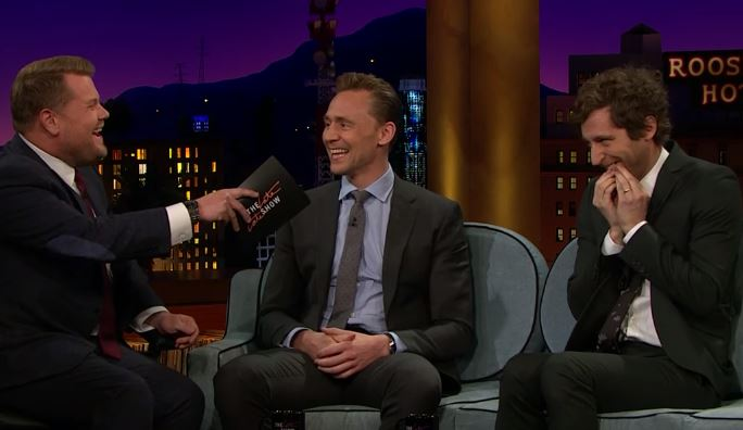 Tom Hiddleston and Thomas Middleditch on James Corden