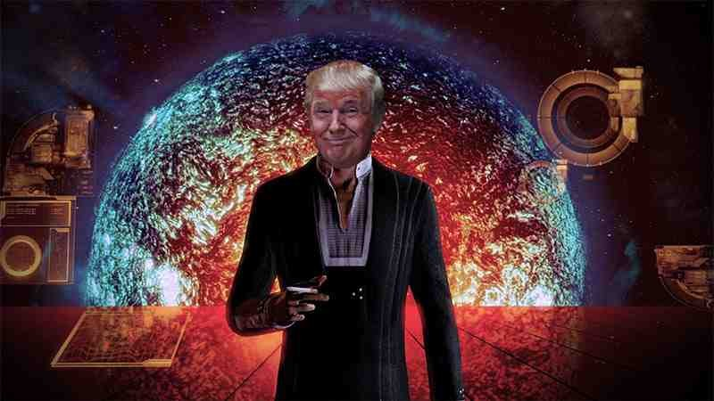 Trump as the Illusive Man Courtesy of Kotaku