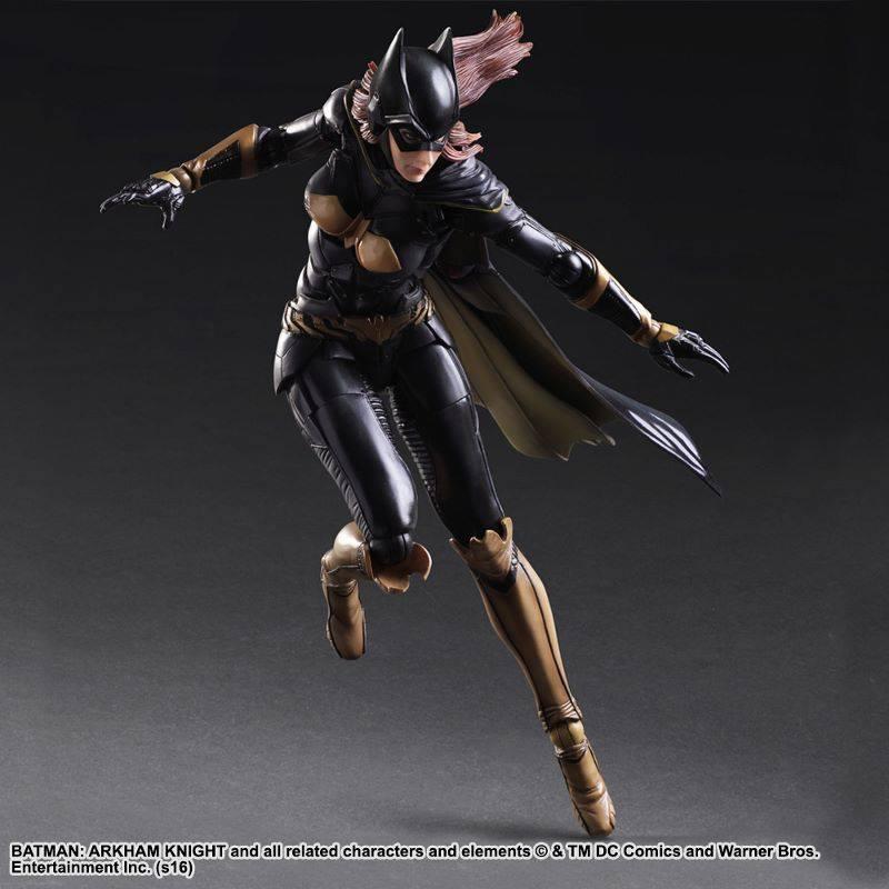 Batgirl Arkham Knight figure pose one leg