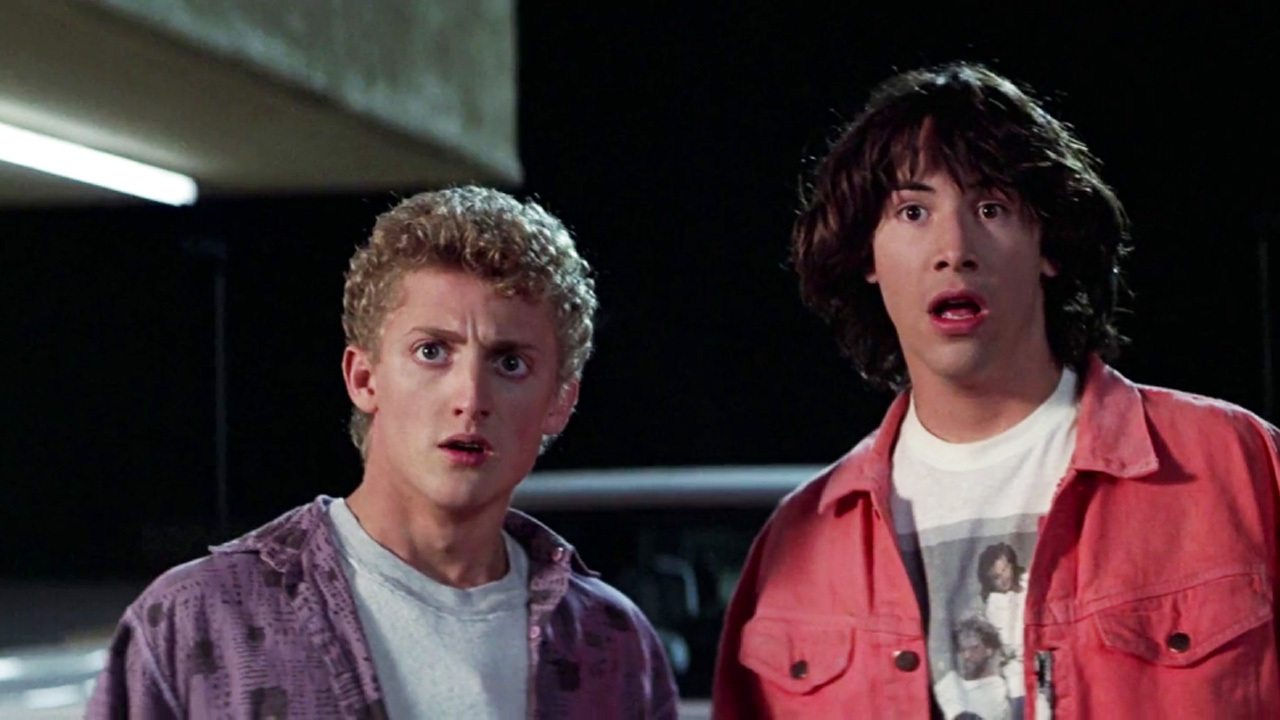 bill & ted, keanu reeves, alex winter, bill & ted's excellent adventure