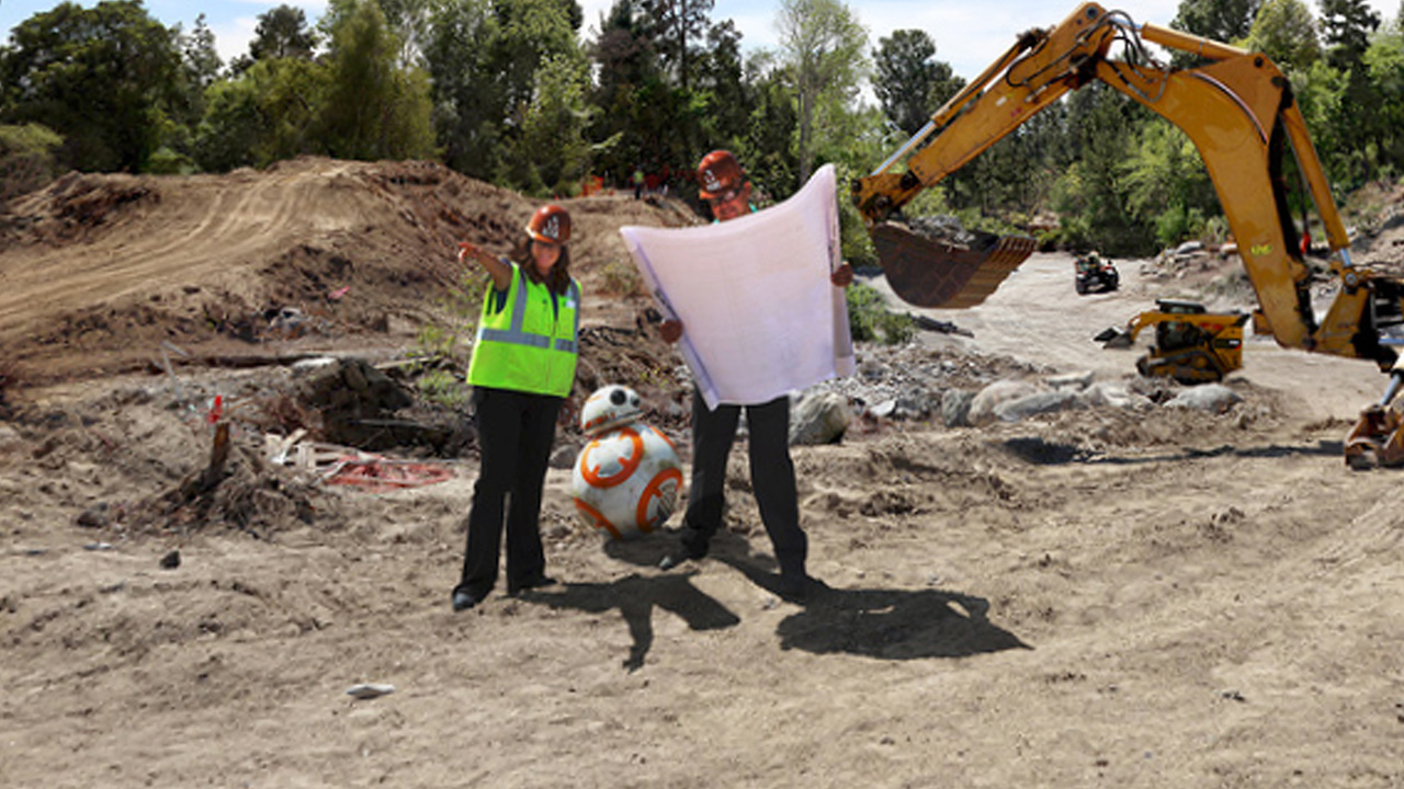 Disney Parks Begins Construction for Star Wars Land